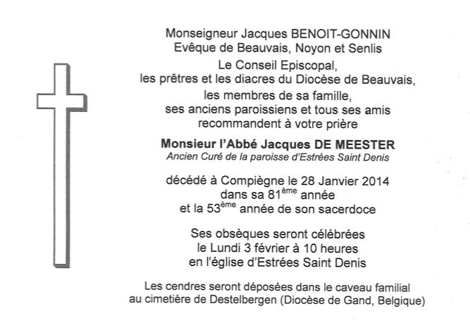 Deces-Abbe-Jacques-De-Meester